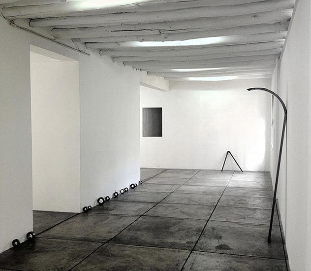 Vista general, El año pasado, Galería Valenzuela Klenner, 2012.
