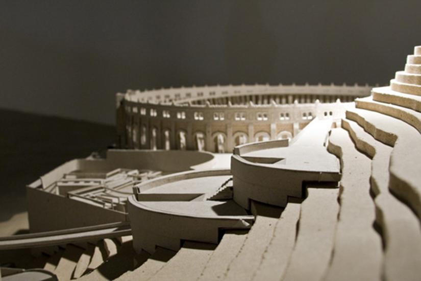 Omnivoro maqueta, detalle, 2009
