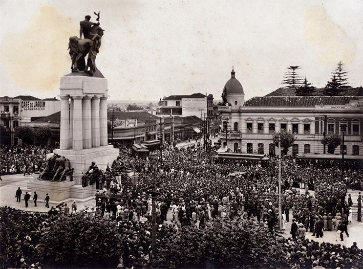 Inaguración monumento a Ramos de Acevedo 1934