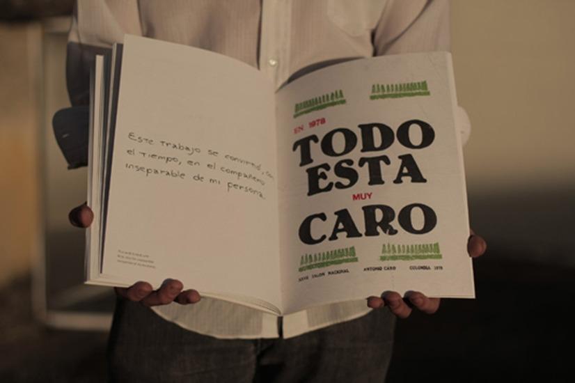 ...antes de Cuiabá  Antonio Caro -  Diseño: Santiago Reyes Villaveces y Juan Pablo Mejía Foto: Juan Pablo Mejía