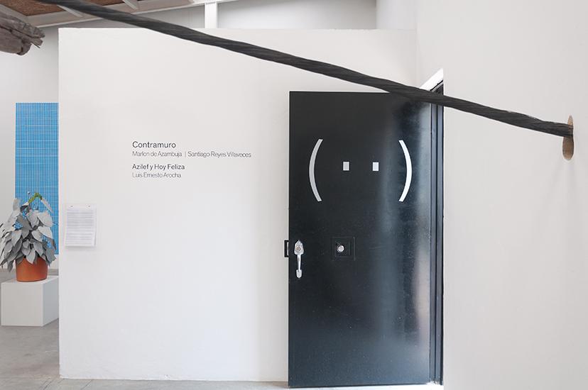 Contramuro Galería Instituto de Visión, Bogotá, Colombia.