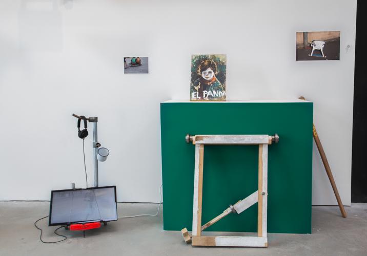 Santiago Reyes Villaveces Brujitas 2017, Installation view