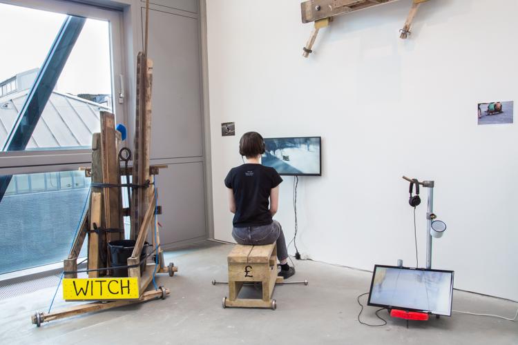Brujitas 2017, Installation view