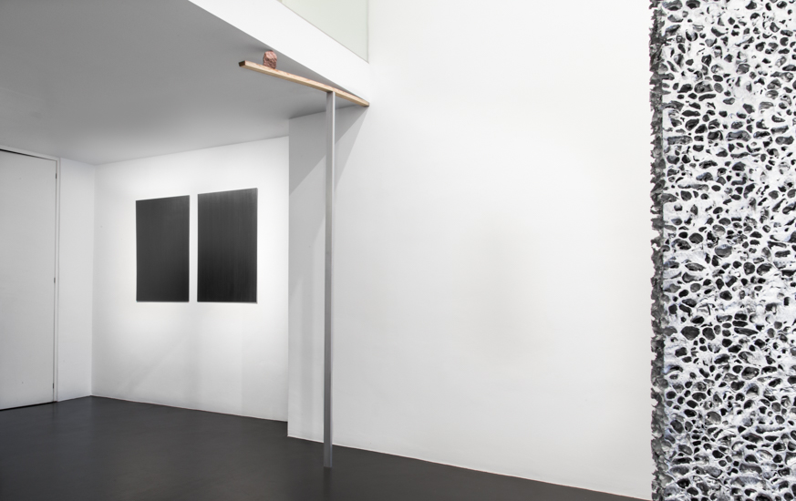 Installation view-Show Alessandro Casciaro Gallery sep 2017